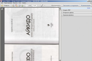 Открытие PDF файла