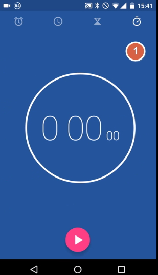Часы в андроид 5 лолипоп